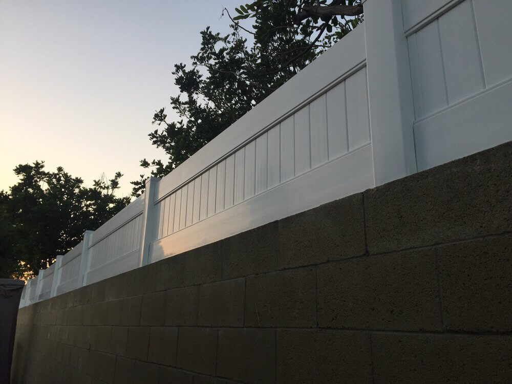 Vinyl wall extension Los Angeles Fence Builders.jpg