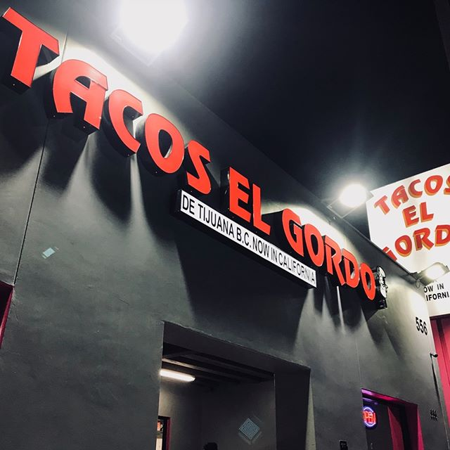Oh dangit! I just got a new love language. Adobada tacos with pineapple anyone? @tacoselgordo_