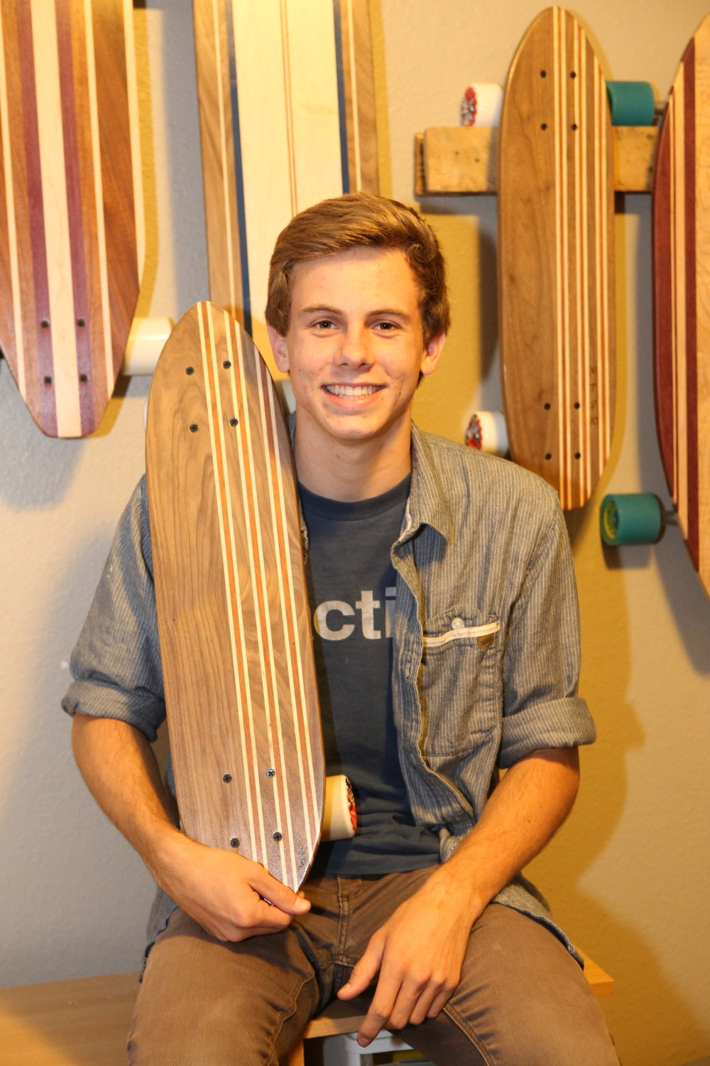Noah Swan, Co-Founder Pacific Tribe Skateboards
