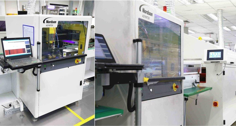 Fluid Dispensing PCB Conformal Coating