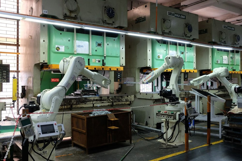 Robotic Arms Assembly