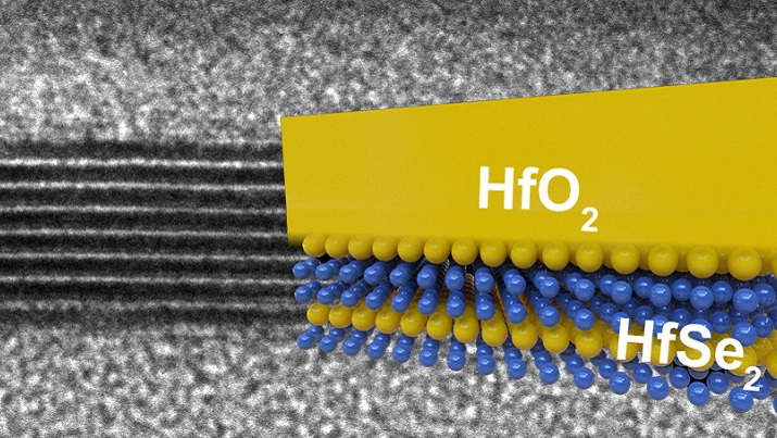 Hafnium Diselenide and Insulator for manufacturing new electronics