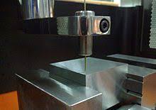 EDM machine in manufacturing