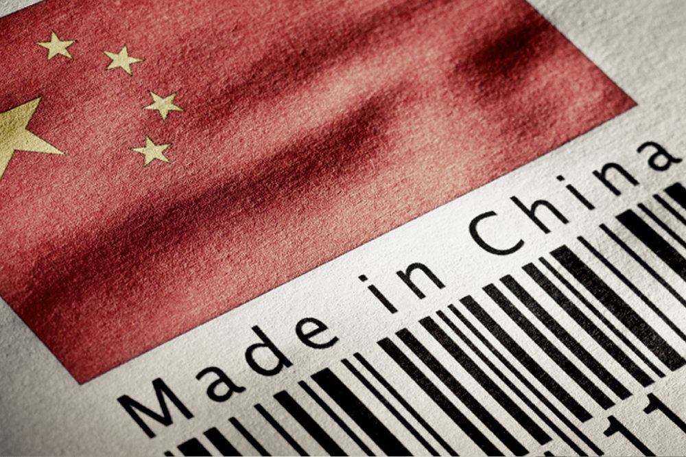 made in china for manufactured goods