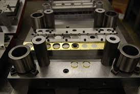 Precision machining progressive stamping dies in manufacturing