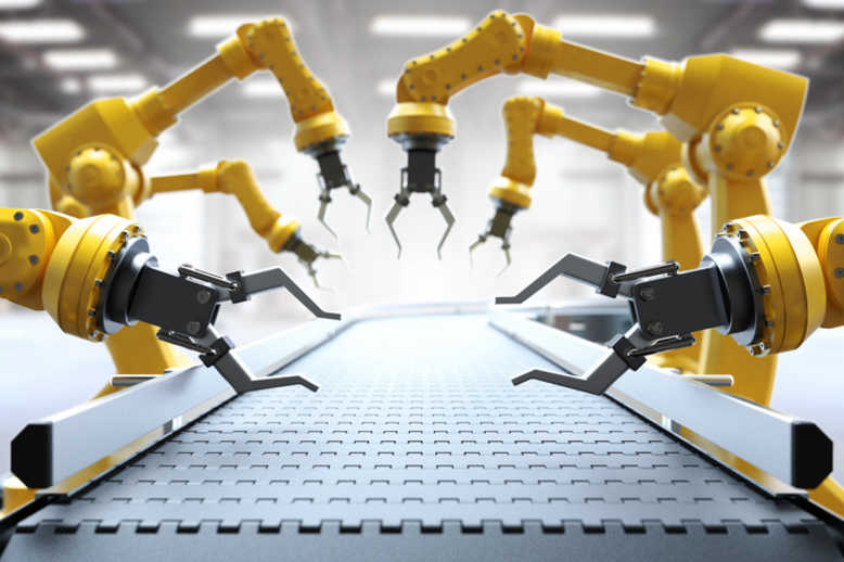 collaborative robots in the manufacturing industry