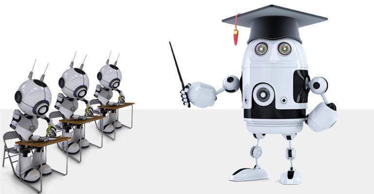 teaching ai and ai robots