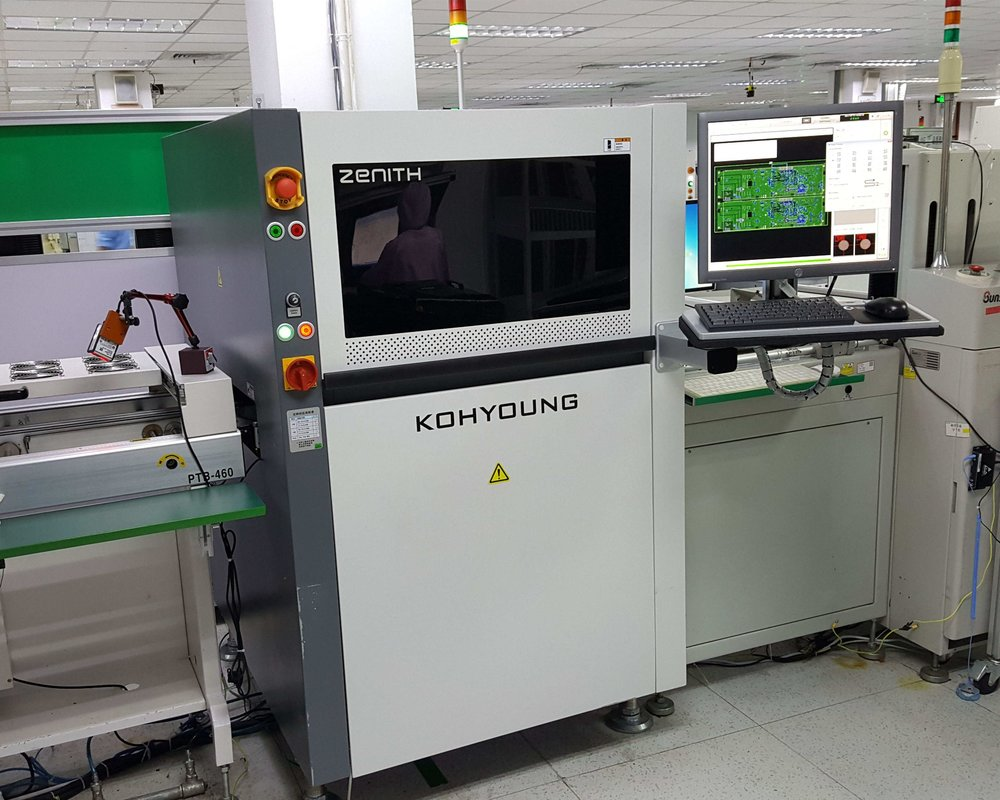 3D optical inspection machine for electrical contract manufacturing
