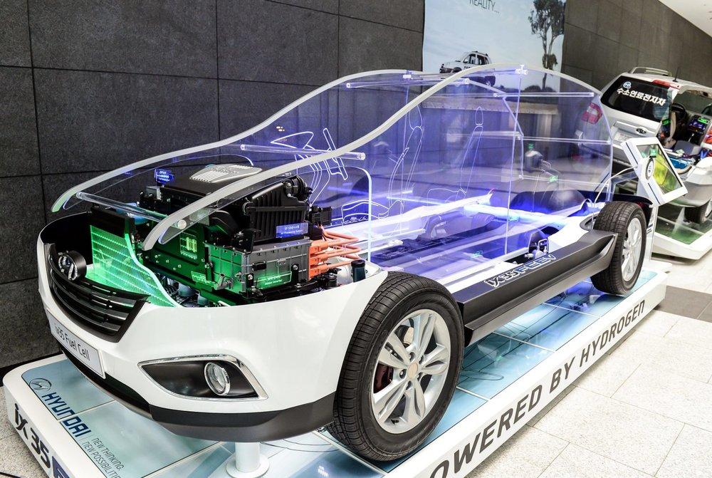 hydrogen car vehicle