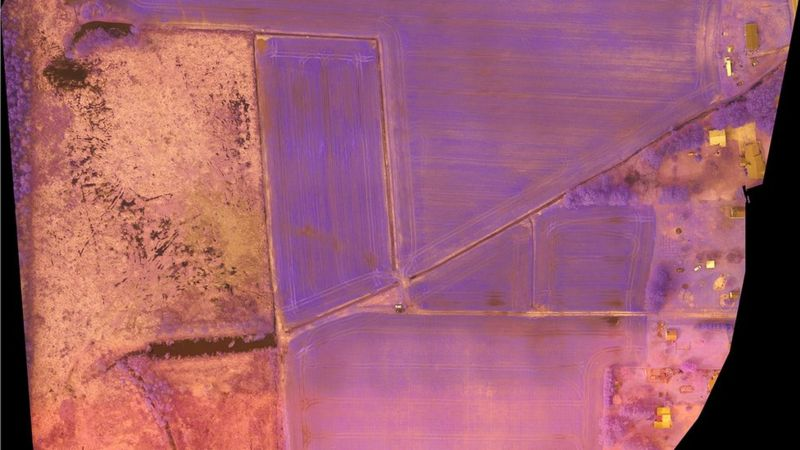 Multispectral drone sensors can also see infrared and ultraviolet wavelengths