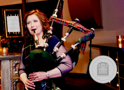 Melody Farquhar-Chang, California bagpiper for hire