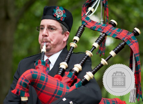 Roderick Nevin, Pennsylvania bagpiper for hire