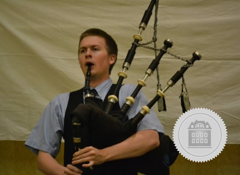 Alasdair Martin, North Carolina bagpiper for hire