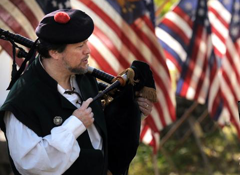 Glenn Pryor, bagpiper for hire