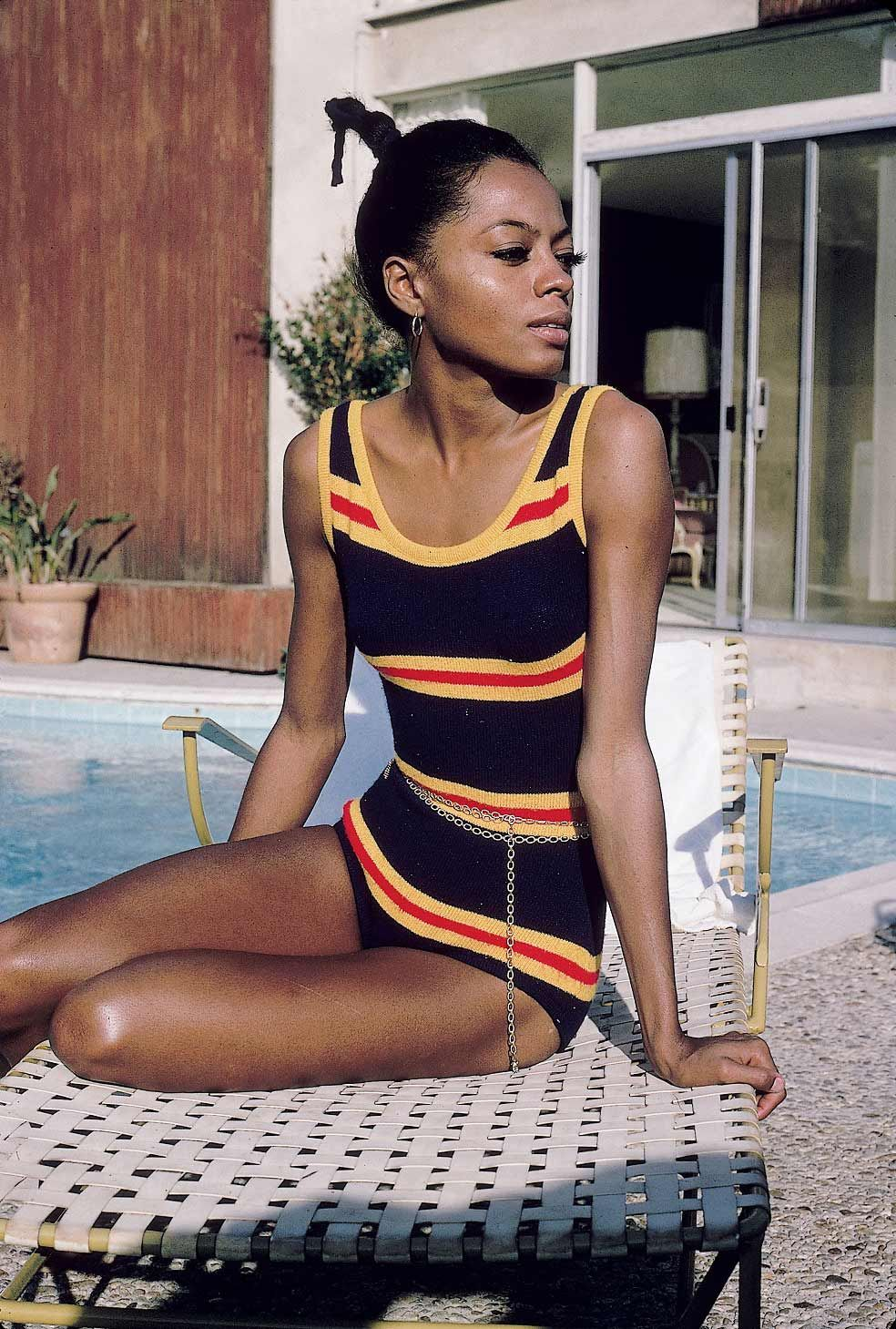 Diana Ross by Leroy Patton, 1970