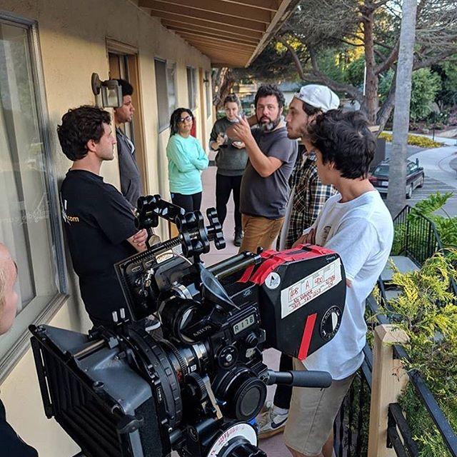 Production shot from September #super16mm #kodakshootfilm #novolveremovie