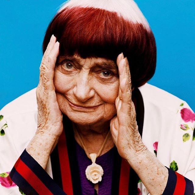 One of my heroes died today. Thank you Agnes for the beautiful films and inspiration! 💔🌈🍀🎬