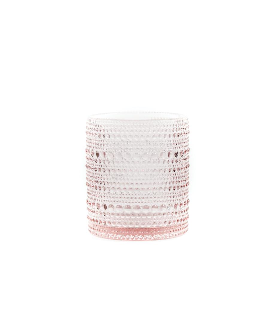 Small Blush Jupiter Glass