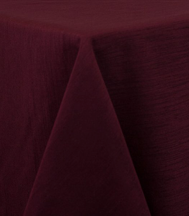 Burgundy Raw Silk