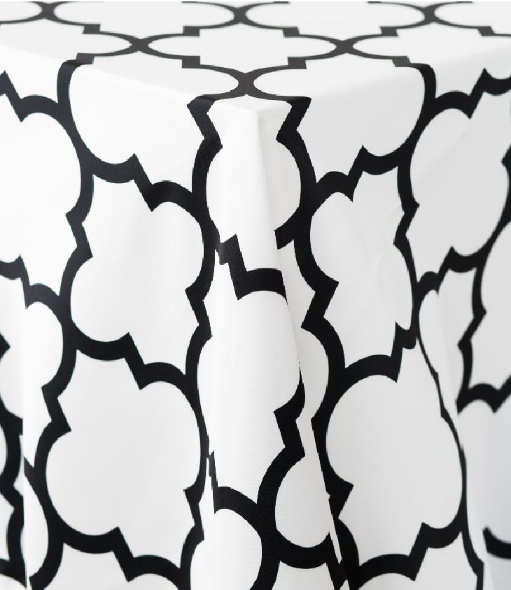 Alhambra Matte Satin Tablecloth