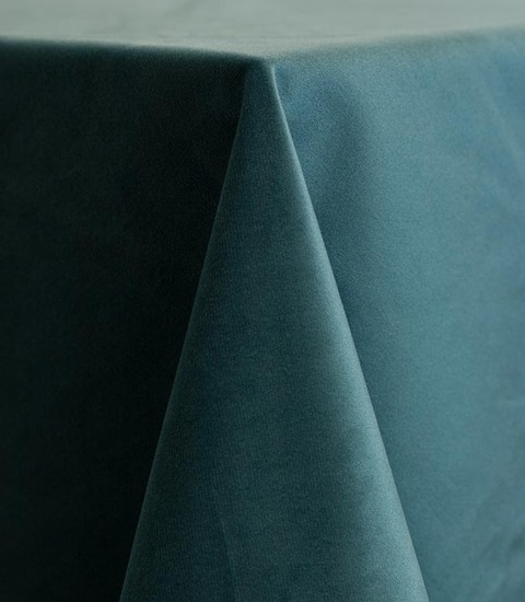 Ocean Velvet Tablecloth