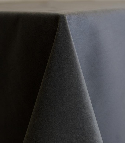 Smoke Velvet Tablecloth