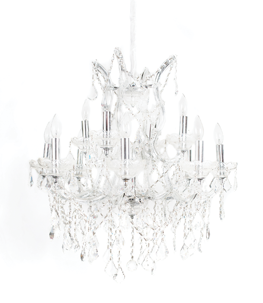 Extra Large  Crystal Chandelier