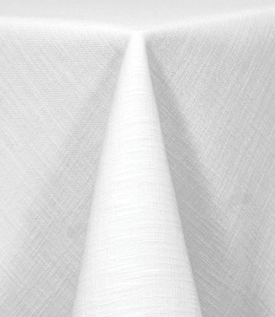 White Panama Tablecloth