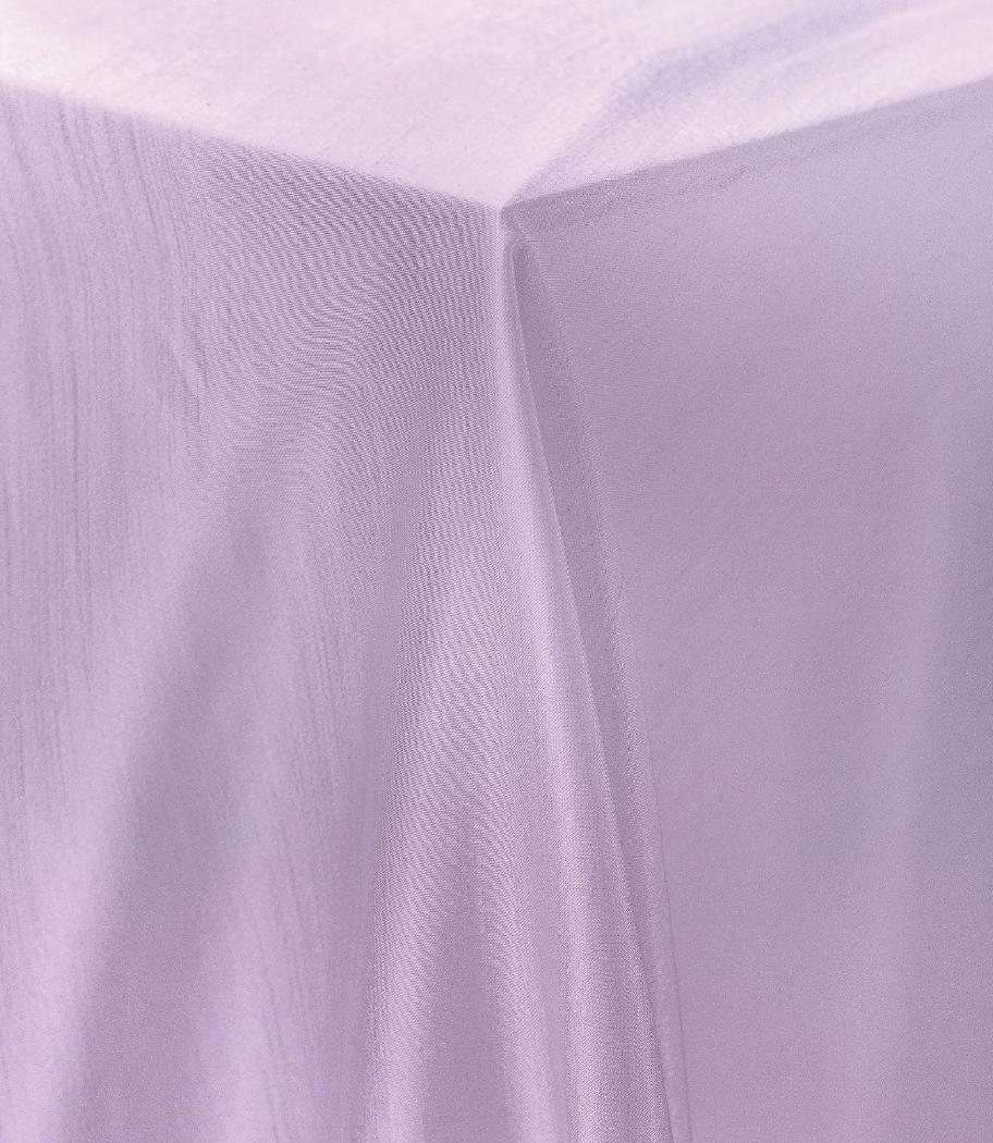 Lilac Raw Silk Tablecloth