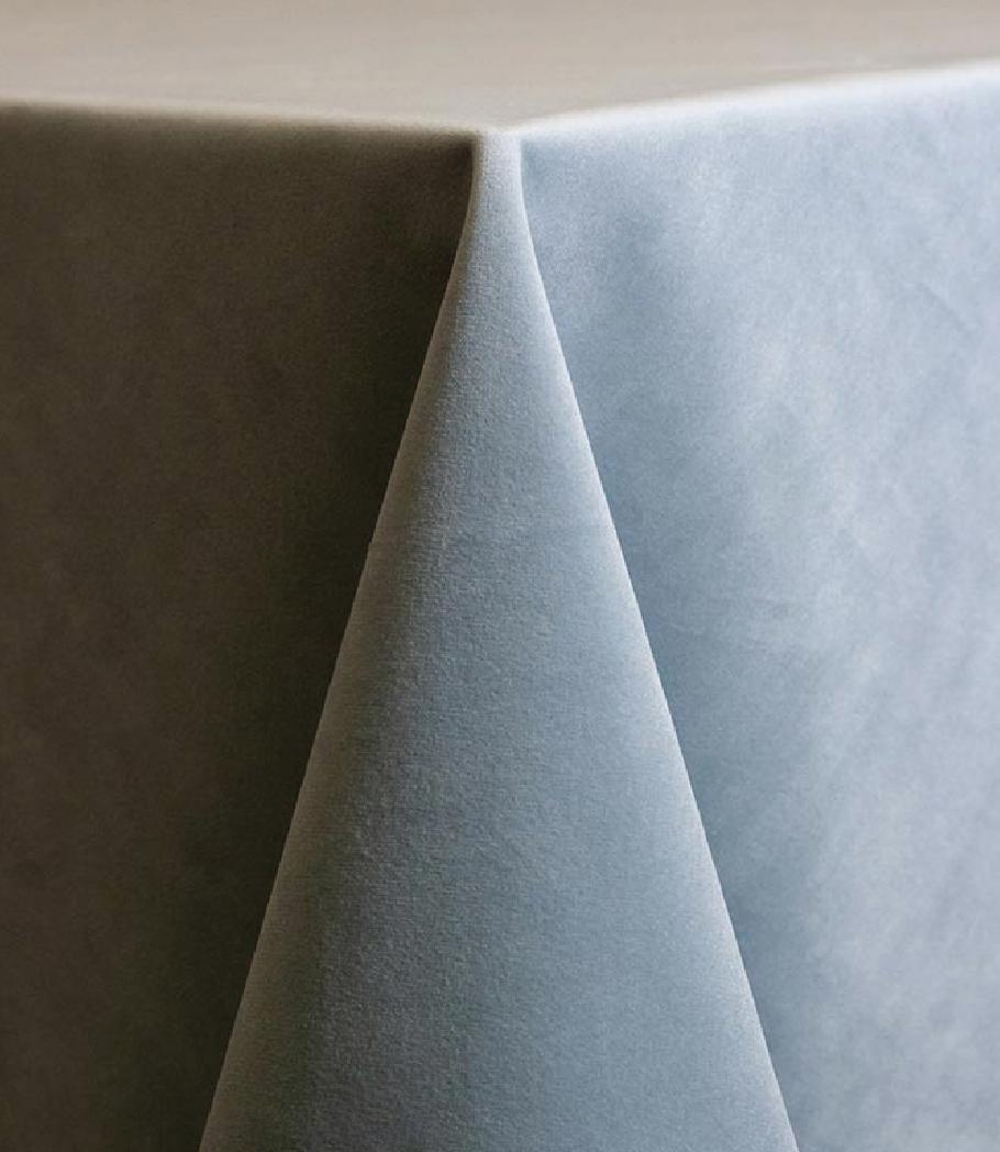 Storm Velvet Tablecloth