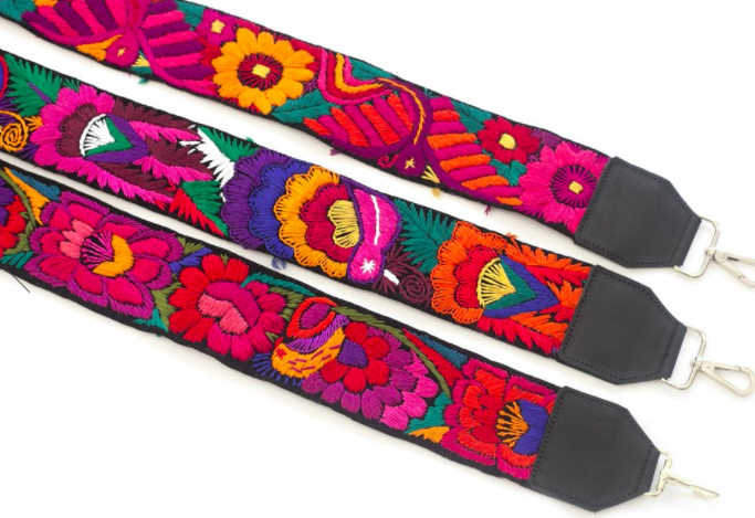 8. Embroidered Camera Strap - ($98) Give the gift of style to the fashion-forward photographer with this stunning, one of a kind strap! This strap is made of a repurposed vintage belt and features incredible embroidery from the Maya village of Chichicastenango, Guatemala using discarded material from female weavers. Not only does your purchase support this sustainable project, it also provides a dignified job opportunity to female artisans in rural Guatemala.Photo: Hiptipico