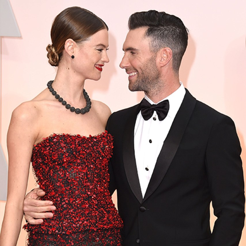 Adam Levine Shares First Photo Of New Baby
