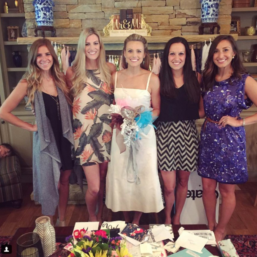 Ashley Salter Had an Adorable Bridal Shower!