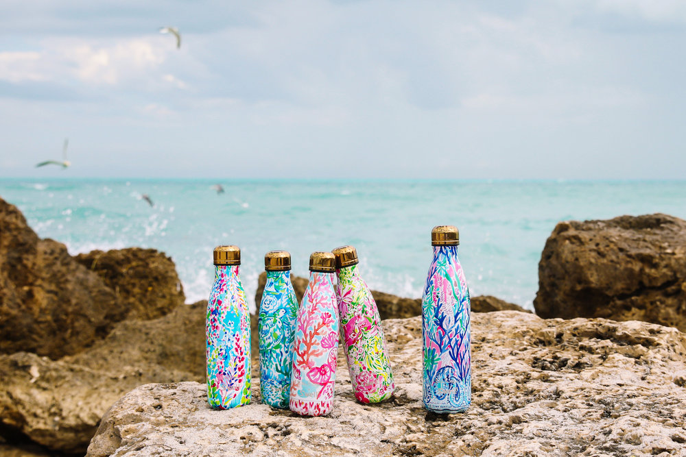 Lilly Pulitzer Just Dropped the Prettiest Water Bottles, And You'll Want To Buy Them All