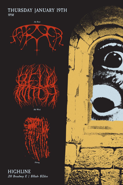 Ash Borer Poster