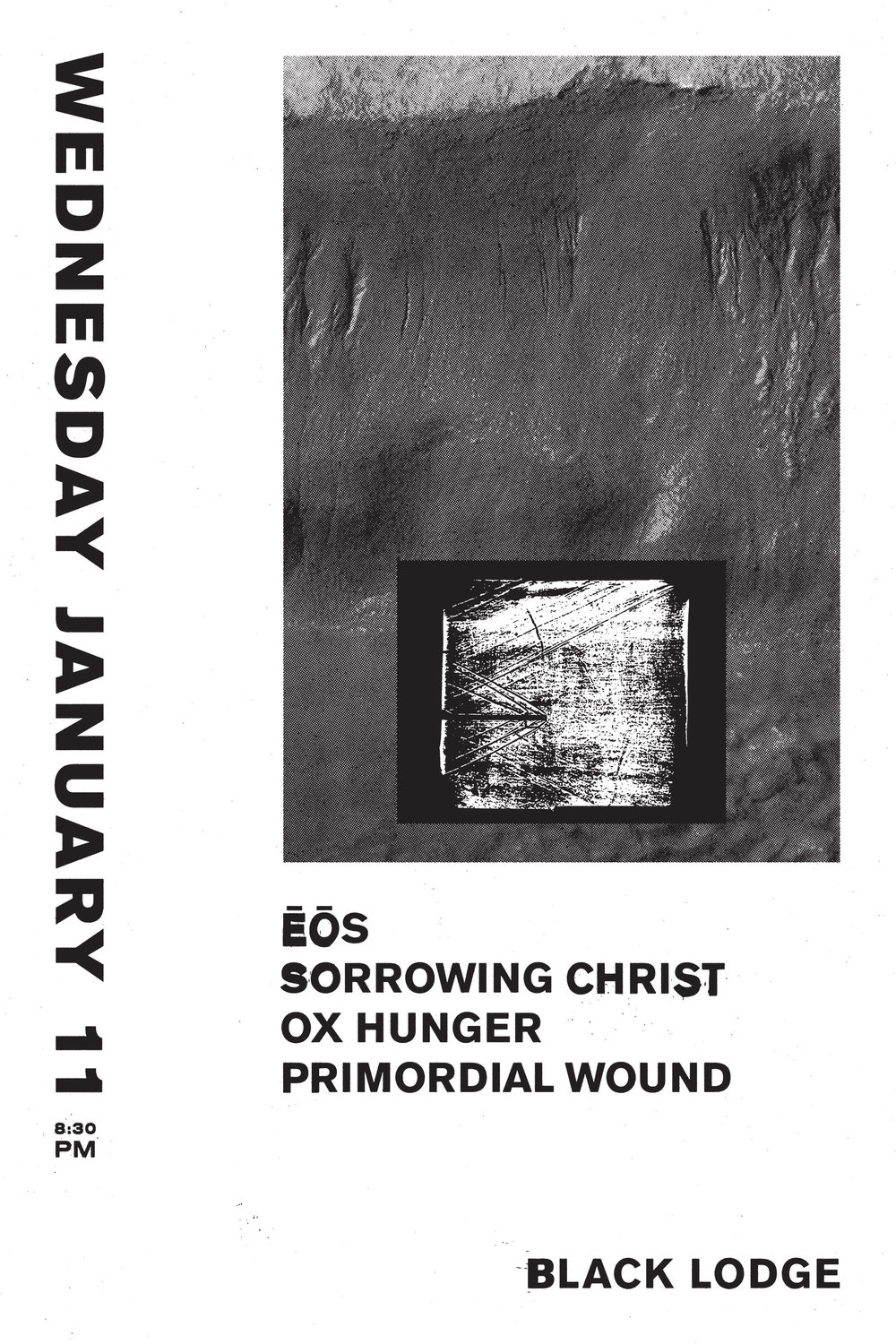 Sorrowing Christ Poster