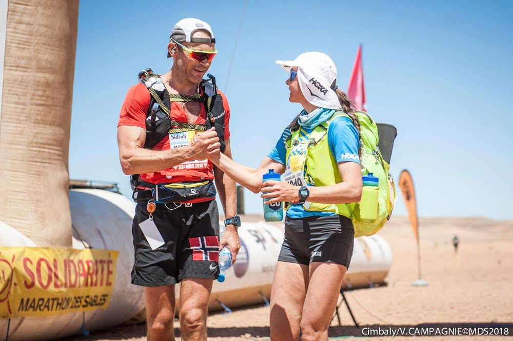 """Solidarité.""  Magda with Morten Grønneberg. Photo: CIMBALY/MDS2018."