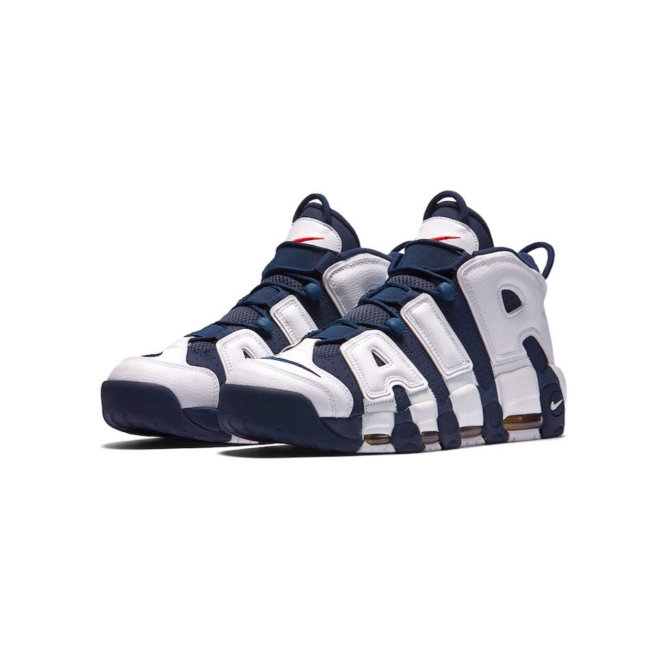 """271bcac1f9e2 2012 """"Olympic"""" Nike Air More Uptempo, Size 8.5. — Revamp26"""