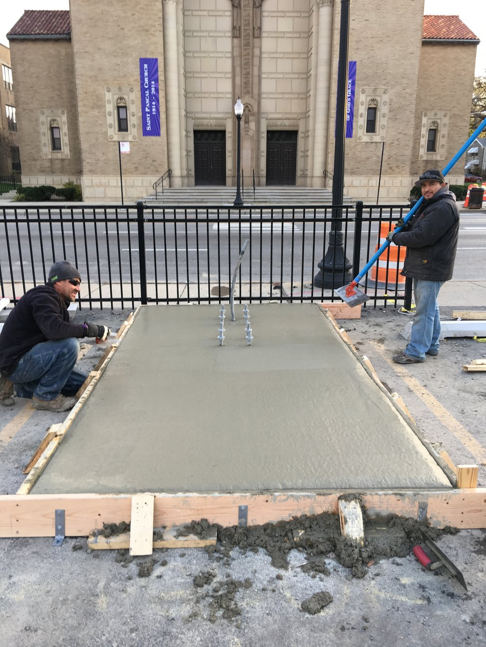 St. Pascal - Installation In Progress