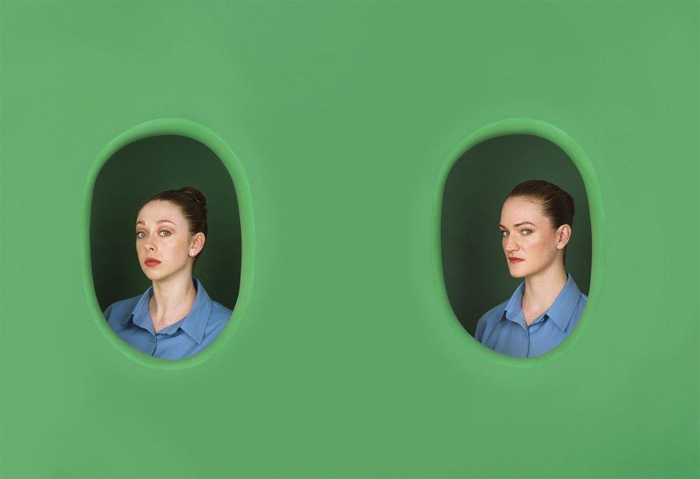 Elad Lassry,  Women (065, 055) , (2012)
