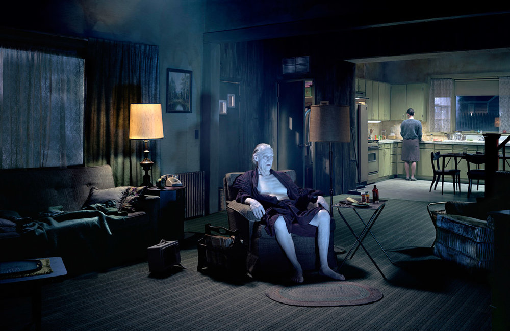 """Gregory Crewdson,  Untitled , from """"Beneath the Roses"""""""