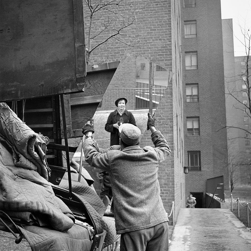 Vivian Maier, Self-Portrait, 1955 VM1955W03420-05-MC