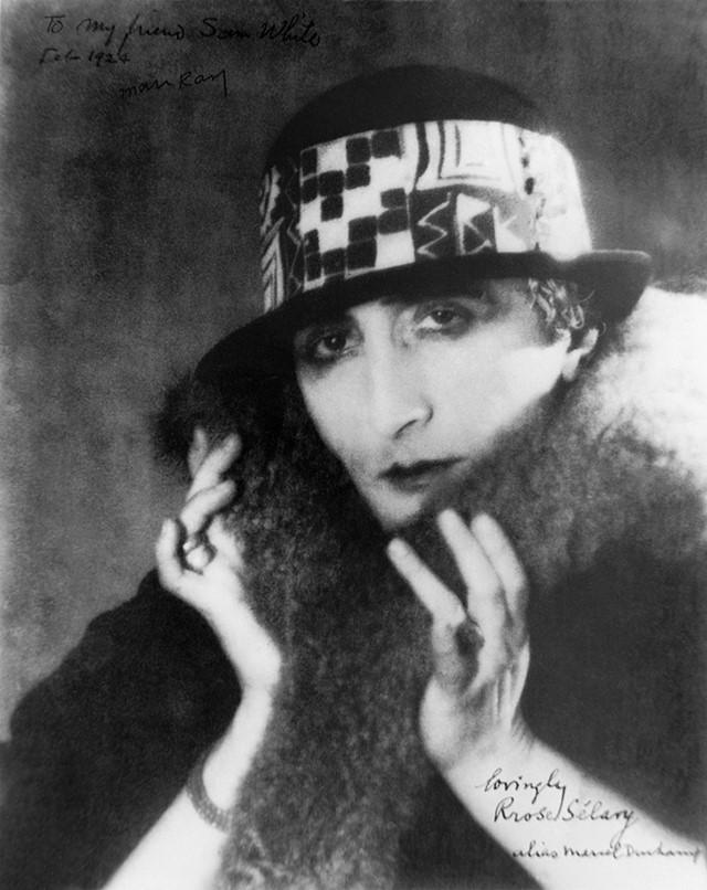 Man Ray, Rrose Selavy (Marcel Duchamp), 1920