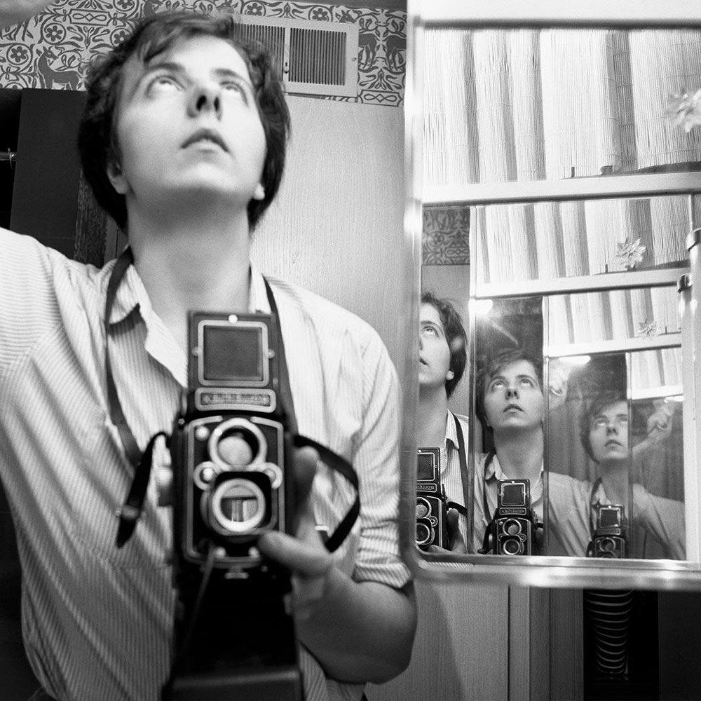 Vivian Maier, Self-Portrait, 1956 VM1956W00022-09-MC