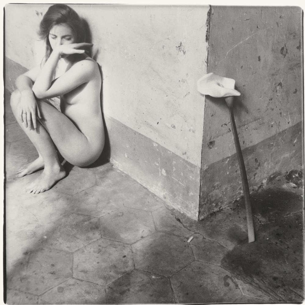 Francesca Woodman,  Untitled Rome, Italy, 1978