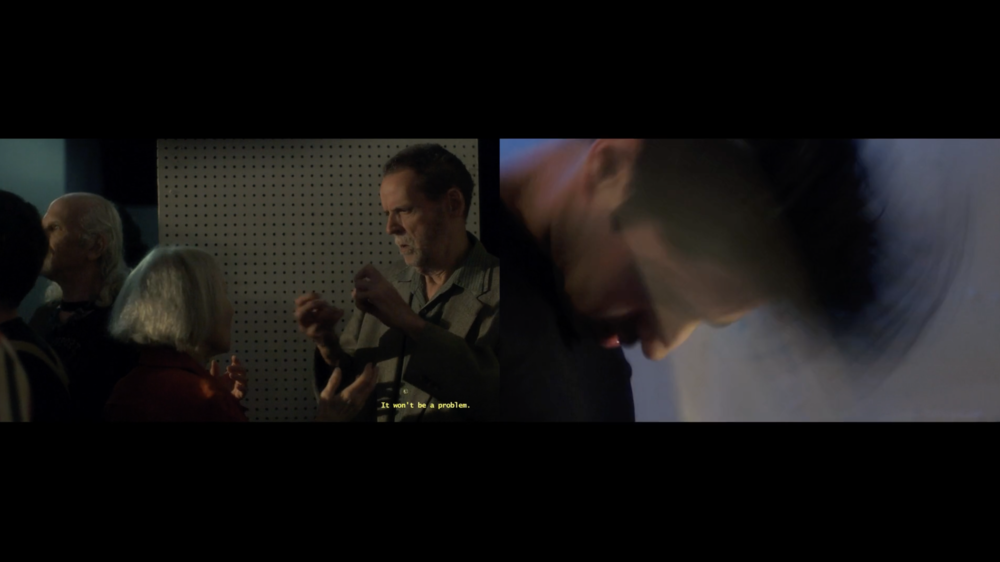 Alison O'Daniel, video still from  The Tuba Thieves: The Deaf Club  (2014)