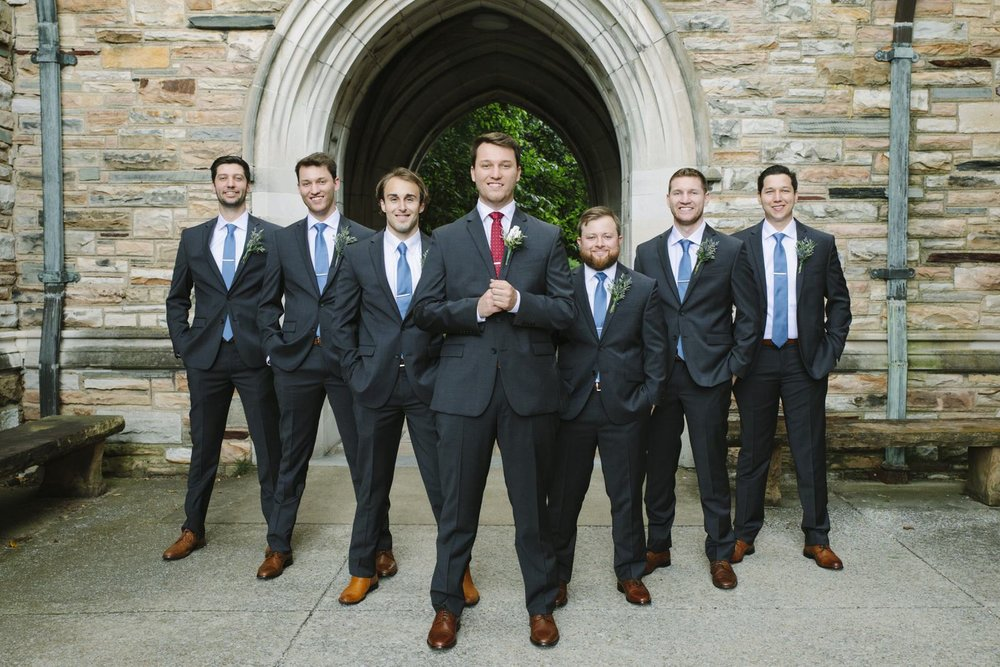 groomsmen are ready!