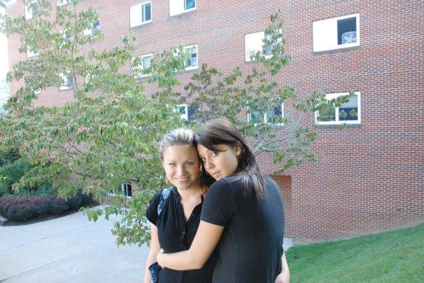 Little Freshman, Kandice and I on a photo walk.
