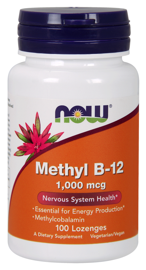 Now Foods Methyl B-12 1000mcg Lozenges