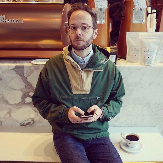 I am a vision of alert, engaged attentiveness. 📷: @skyloftproductions